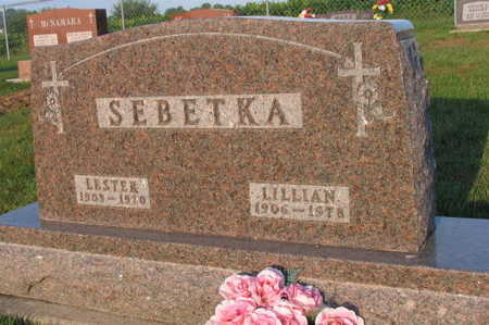 SEBETKA, LILLIAN - Linn County, Iowa | LILLIAN SEBETKA