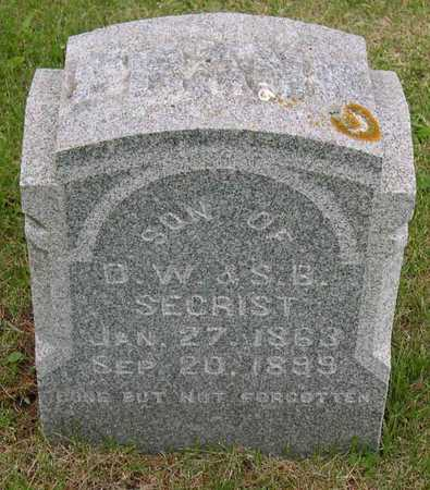 SECRIST, FRANK - Linn County, Iowa | FRANK SECRIST