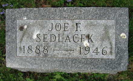 SEDLACEK, JOE F. - Linn County, Iowa | JOE F. SEDLACEK