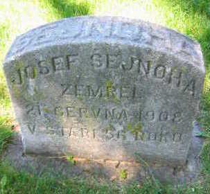 SEJNOHA, JOSEF - Linn County, Iowa | JOSEF SEJNOHA