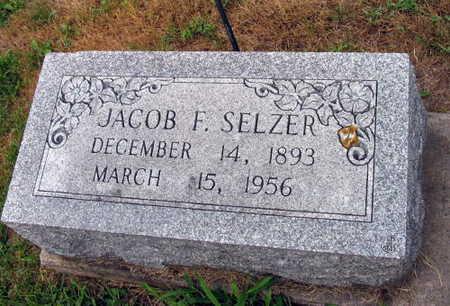 SELZER, JACOB F. - Linn County, Iowa | JACOB F. SELZER