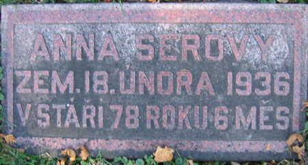SEROVY, ANNA - Linn County, Iowa | ANNA SEROVY