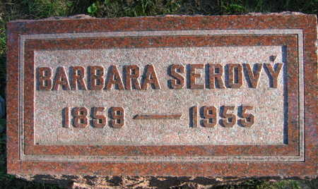SEROVY, BARBARA - Linn County, Iowa   BARBARA SEROVY