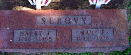 SEROVY, MARY F. - Linn County, Iowa | MARY F. SEROVY