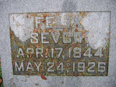 SEVCIK, FELIX - Linn County, Iowa | FELIX SEVCIK