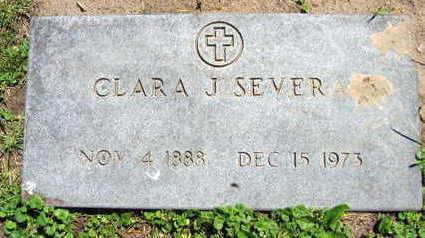 SEVERA, CLARA J. - Linn County, Iowa | CLARA J. SEVERA