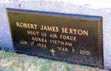 SEXTON, ROBERT JAMES - Linn County, Iowa   ROBERT JAMES SEXTON