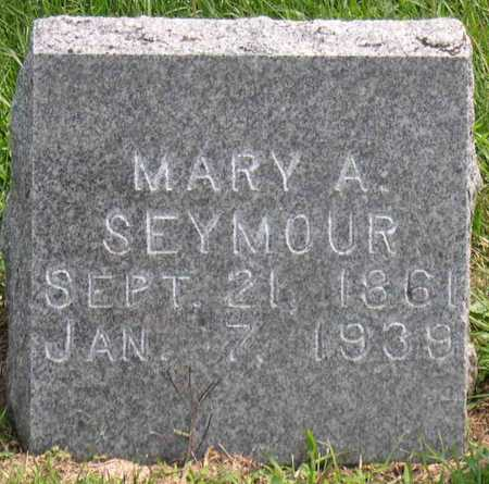 SEYMOUR, MARY A. - Linn County, Iowa | MARY A. SEYMOUR