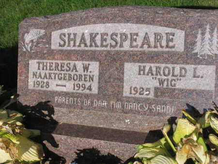 SHAKESPEARE, THERESA W. - Linn County, Iowa | THERESA W. SHAKESPEARE