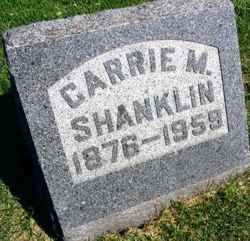 SHANKLIN, CARRIE M. - Linn County, Iowa | CARRIE M. SHANKLIN