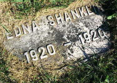 SHANKLIN, EDNA - Linn County, Iowa | EDNA SHANKLIN