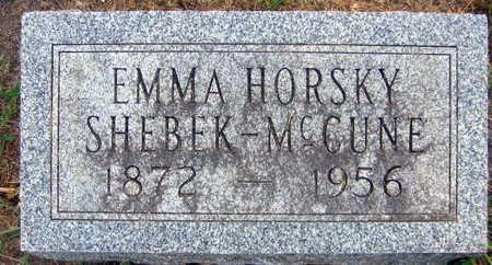 HORSKY SHEBEK-MCCUNE, EMMA - Linn County, Iowa | EMMA HORSKY SHEBEK-MCCUNE