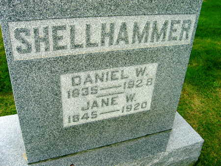 SHELLHAMMER, JANE W. - Linn County, Iowa | JANE W. SHELLHAMMER