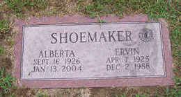 SHOEMAKER, ALBERTA - Linn County, Iowa | ALBERTA SHOEMAKER