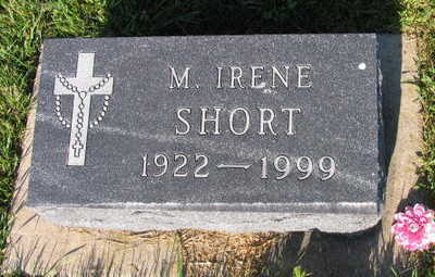 SHORT, M. IRENE - Linn County, Iowa | M. IRENE SHORT