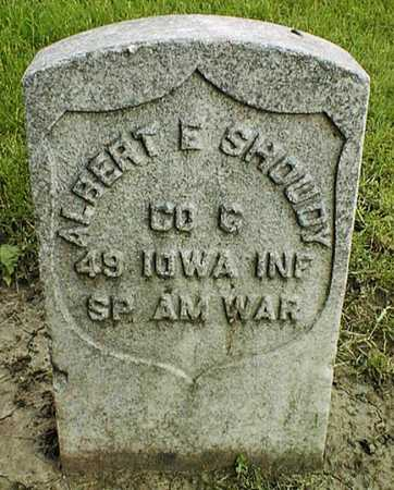 SHOUDY, ALBERT E. - Linn County, Iowa | ALBERT E. SHOUDY