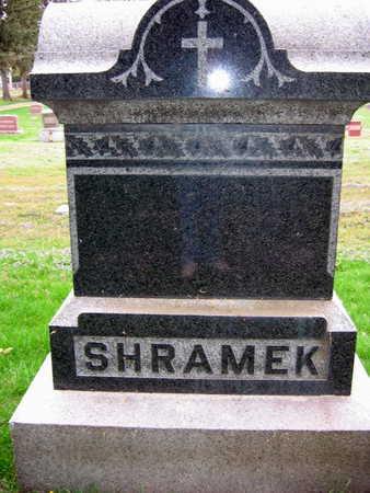 SHRAMEK, FAMILY STONE - Linn County, Iowa | FAMILY STONE SHRAMEK