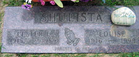 SHULISTA, LOUISE - Linn County, Iowa | LOUISE SHULISTA