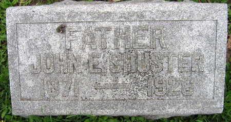 SHUSTER, JOHN E. - Linn County, Iowa | JOHN E. SHUSTER