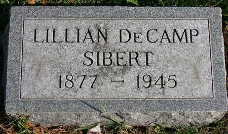 SIBERT, LILLIAN - Linn County, Iowa | LILLIAN SIBERT
