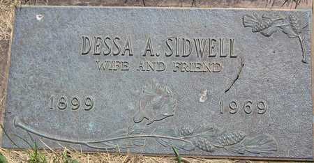 SIDWELL, DESSA A - Linn County, Iowa | DESSA A SIDWELL
