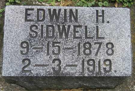 SIDWELL, EDWIN H. - Linn County, Iowa | EDWIN H. SIDWELL
