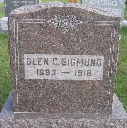 SIGMUND, GLEN C. - Linn County, Iowa | GLEN C. SIGMUND