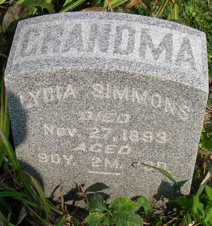 SIMMONS, LYDIA - Linn County, Iowa | LYDIA SIMMONS