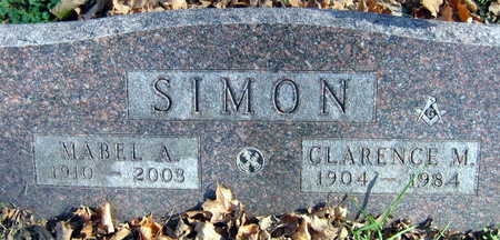 SIMON, MABEL A. - Linn County, Iowa | MABEL A. SIMON