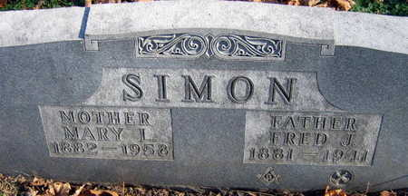 SIMON, MARY L. - Linn County, Iowa | MARY L. SIMON