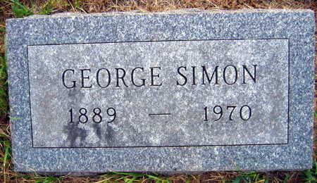 SIMON, GEORGE - Linn County, Iowa | GEORGE SIMON