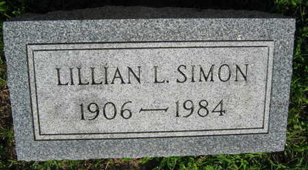 SIMON, LILLIAN L. - Linn County, Iowa | LILLIAN L. SIMON
