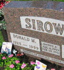 SIROWY, DONALD M. - Linn County, Iowa | DONALD M. SIROWY