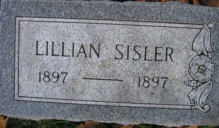 SISLER, LILLIAN - Linn County, Iowa | LILLIAN SISLER