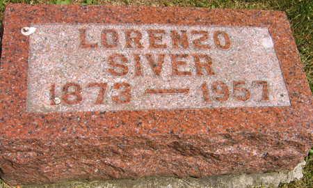 SIVER, LORENZO - Linn County, Iowa | LORENZO SIVER