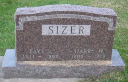 SIZER, HARRY W. - Linn County, Iowa | HARRY W. SIZER