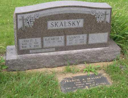 SKALSKY, ERNEST E. - Linn County, Iowa | ERNEST E. SKALSKY