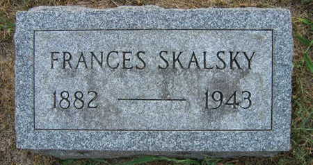 SKALSKY, FRANCES - Linn County, Iowa | FRANCES SKALSKY