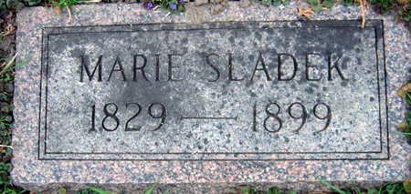 SLADEK, MARIE - Linn County, Iowa | MARIE SLADEK