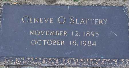 SLATTERY, GENEVE O - Linn County, Iowa | GENEVE O SLATTERY