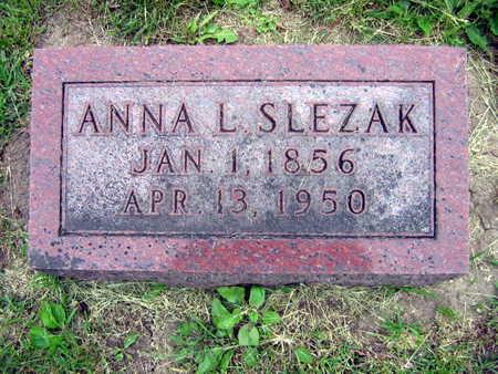 SLEZAK, ANNA L. - Linn County, Iowa | ANNA L. SLEZAK