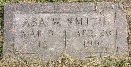 SMITH, ASA W. - Linn County, Iowa | ASA W. SMITH