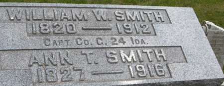 SMITH, CAPT. WILLIAM W. - Linn County, Iowa | CAPT. WILLIAM W. SMITH