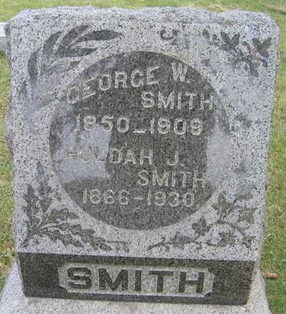 SMITH, GEORGE W. - Linn County, Iowa | GEORGE W. SMITH