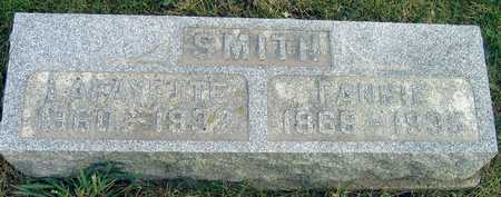 SMITH, FANNIE - Linn County, Iowa | FANNIE SMITH