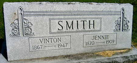 SMITH, JENNIE - Linn County, Iowa | JENNIE SMITH