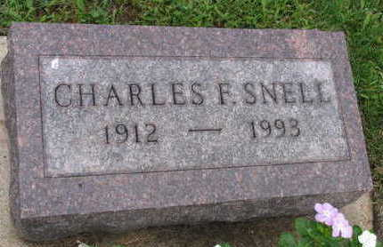 SNELL, CHARLES F. - Linn County, Iowa | CHARLES F. SNELL
