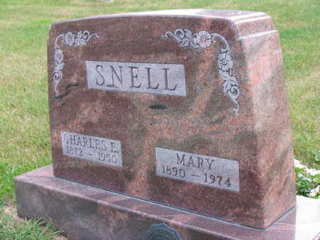SNELL, MARY - Linn County, Iowa | MARY SNELL