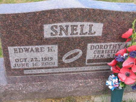 SNELL, EDWARD H. - Linn County, Iowa | EDWARD H. SNELL