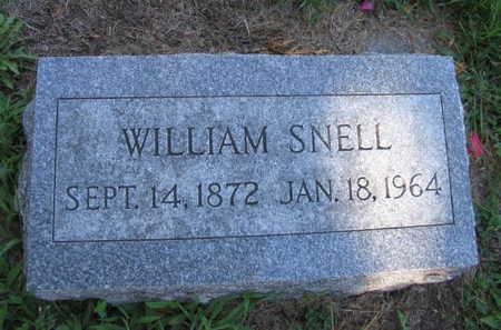 SNELL, WILLIAM - Linn County, Iowa | WILLIAM SNELL